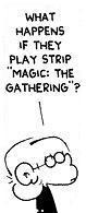 FoxTrot Strip Magic: The Gathering (JPG)