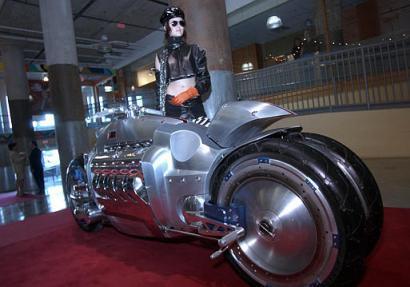 Dodge's Tomahawk Motorcycle on