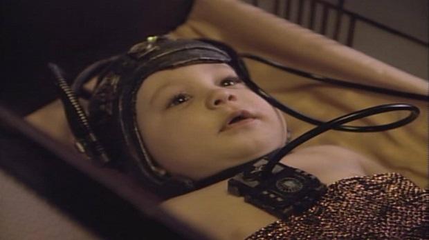 Star Trek cybernetic baby