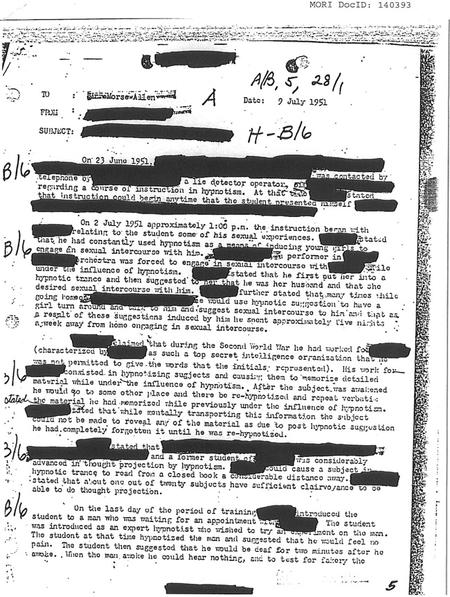 CIA Document Mori ID: 140393, page 1