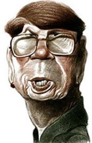 Janet Reno caricature