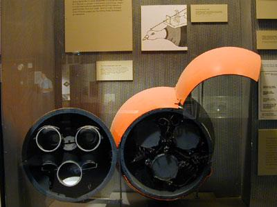 Museum of American History, Washington, D.C. - B.F. Skinner World War Two pigeon guided bomb