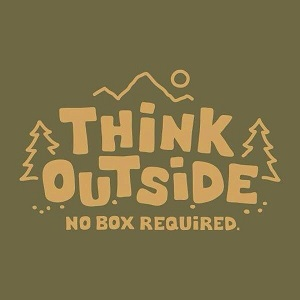 Think outside: no box required