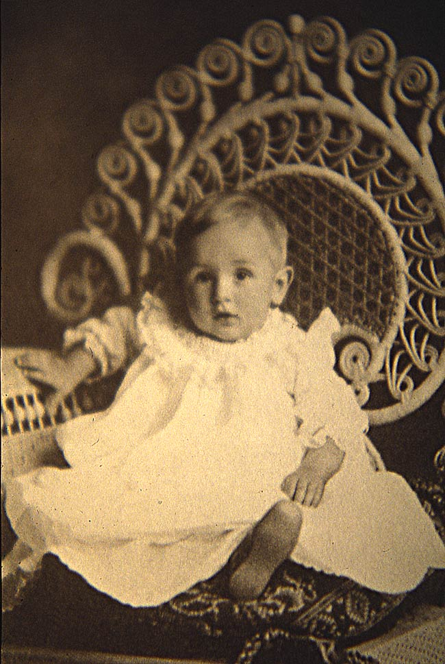 Walt Disney as a child